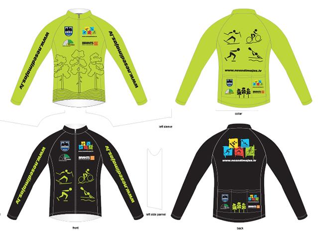 Sport uniform print