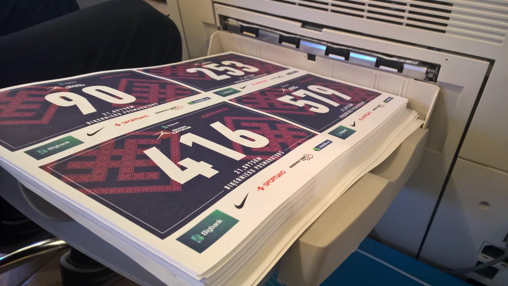 bib printing