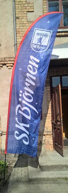Pludmales karogi, izgatavošana