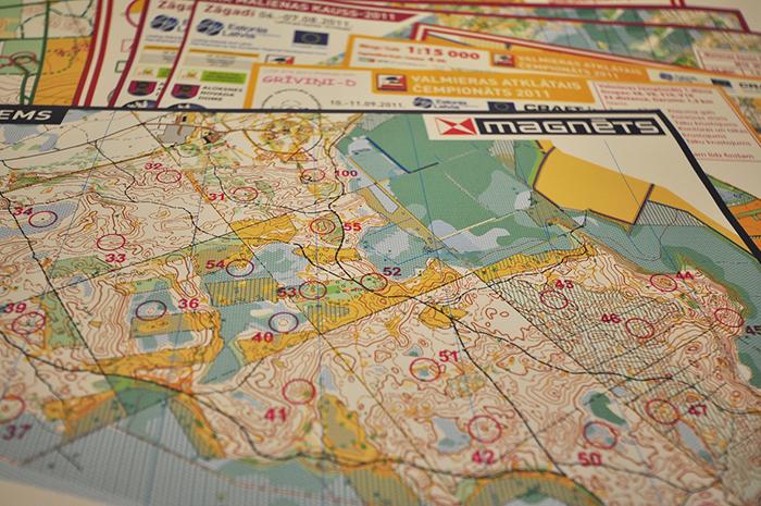 Map printing